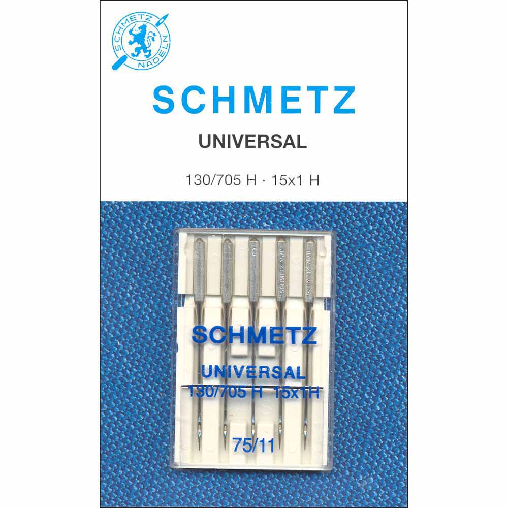 SCHMETZ #1718 Universal Needles Carded - 75/11 - 5 count