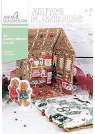 Anita Goodesign 3D Gingerbread House - Project Collection