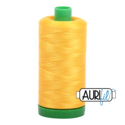 2135 YELLOW  - AURIFIL 100% COTTON THREAD 40WT.