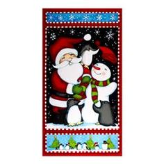 North Pole Greeting Flannel