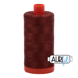 4012 COPPER BROWN  - AURIFIL 100% COTTON THREAD 50WT.