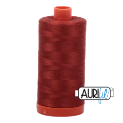 2385 TERRACOTTA  - AURIFIL 100% COTTON THREAD 50WT.