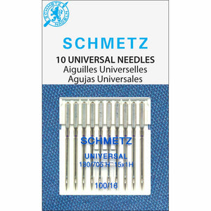 SCHMETZ #1830 Universal Needles Carded - 100/16 - 10 count