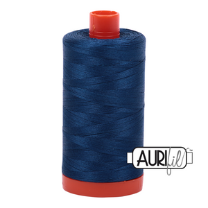 2783 MEDIUM DELFT BLUE - AURIFIL 100% COTTON THREAD 12WT.