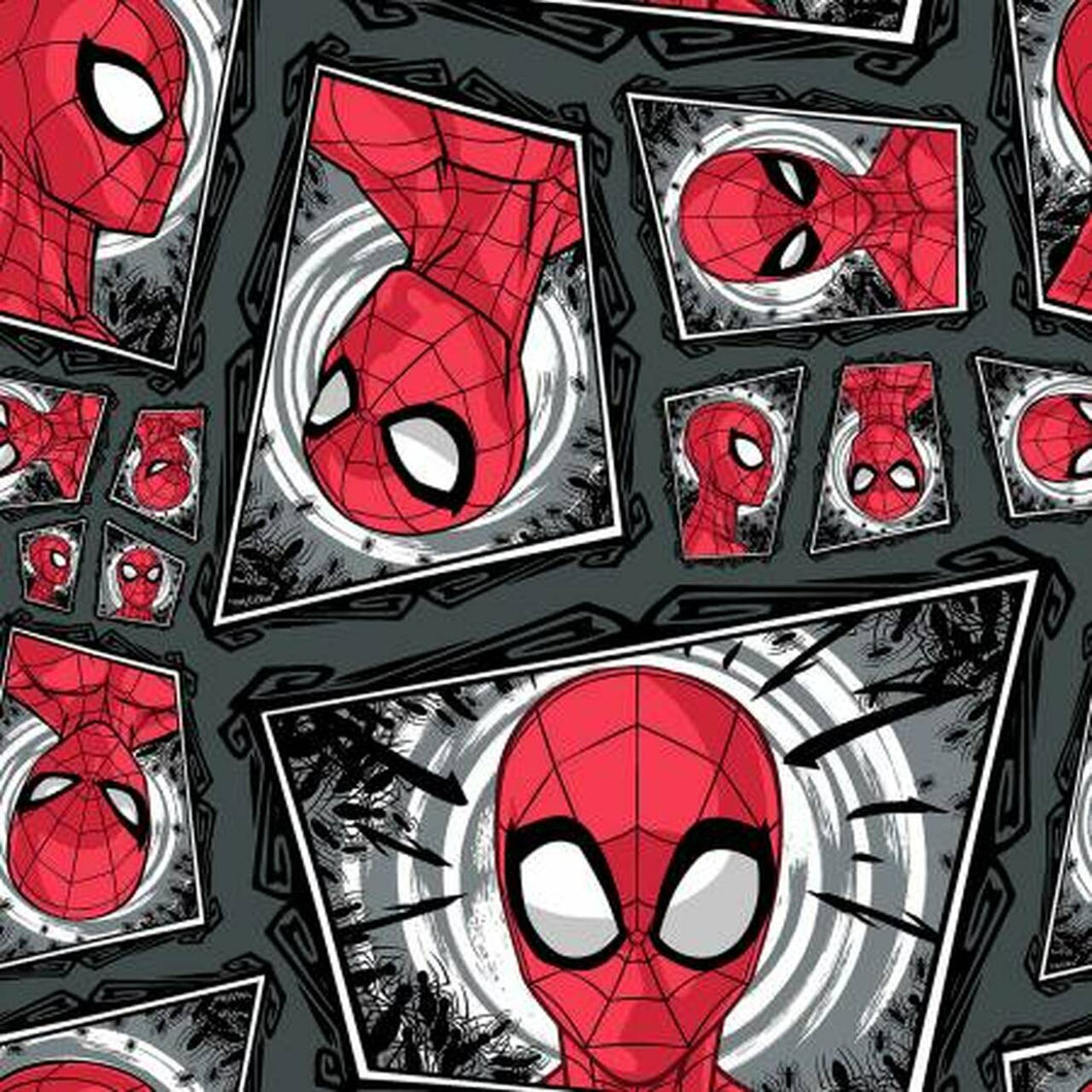 Spiderman Comic Swirl