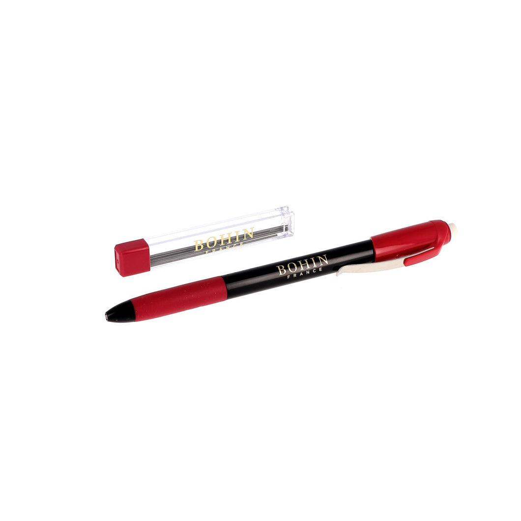BOHIN MECHANICAL CHALK PENCIL  - BLACK
