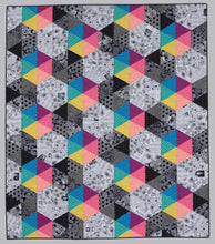Load image into Gallery viewer, Splash of Color: A Rainbow of Brilliant Black-and-White Quilts