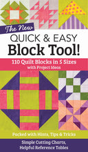 Load image into Gallery viewer, New Quick & Easy Block Tool book