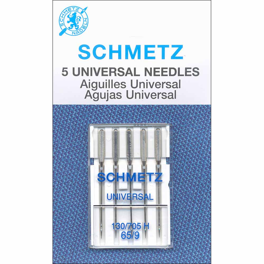 SCHMETZ #1721 Universal Needles Carded - 65/9 - 5 count