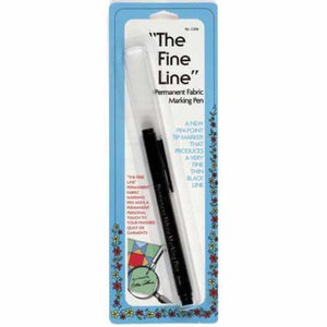 FINE LINE PERMANENT FABRIC MARKING PEN