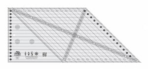 45 DEGREE DIAMONDS DIMENSIONS RULER