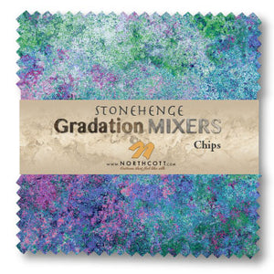 Stongehenge Gradations Chips - Mixer Brights 42 5″ squares