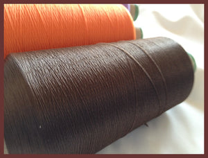 Wooly Nylon Thread - 78 BROWN
