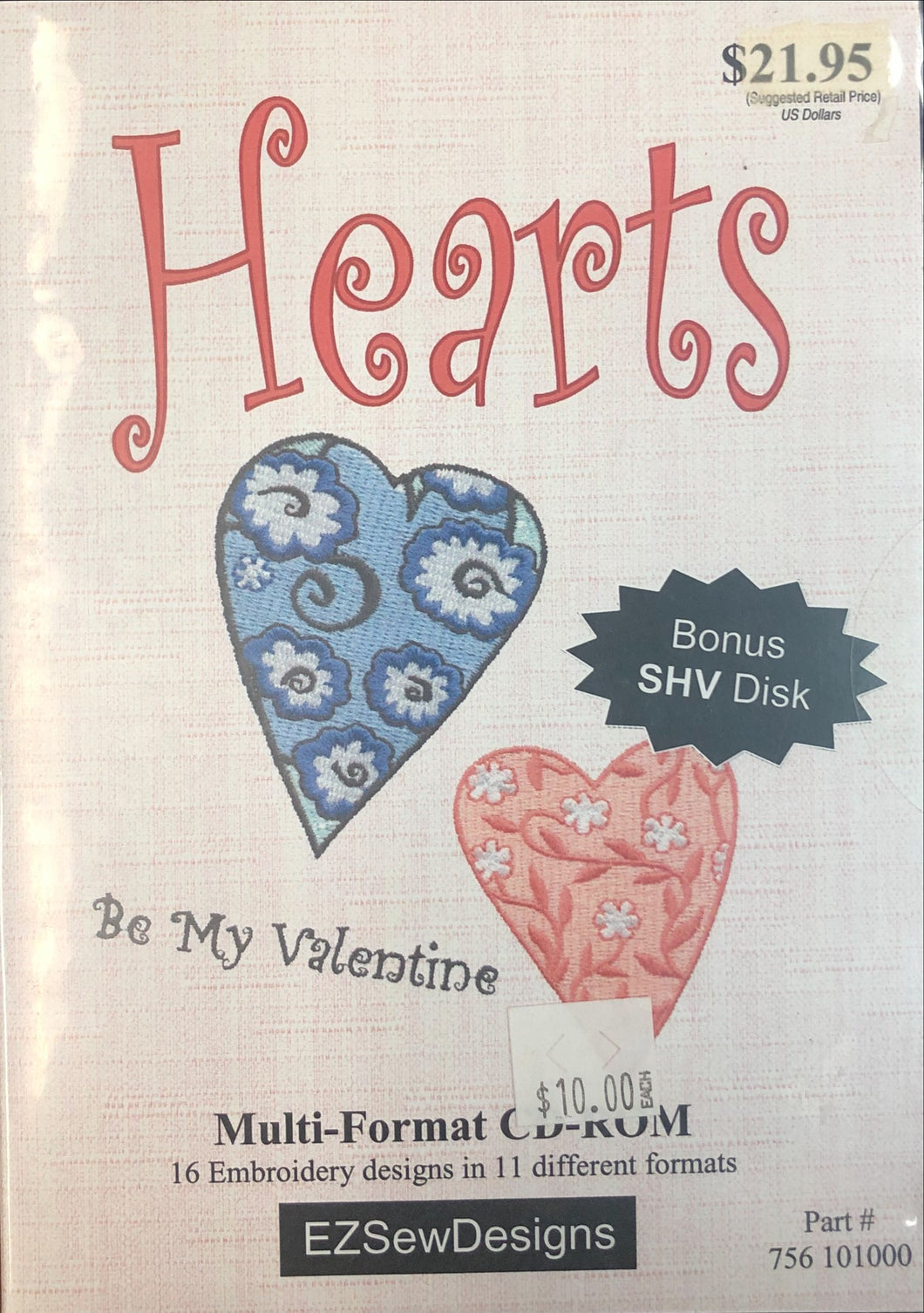 Hearts 'Be my Valentine' Multi-Format CD-ROM