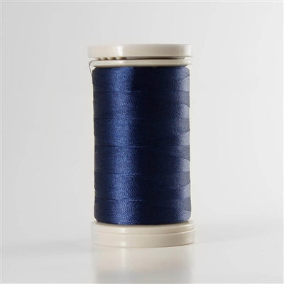 Para-Cotton Poly Thread - QST80-0358 - NAVY SATIN, 80wt 400m