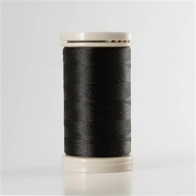 Para-Cotton Poly Thread - QST80-0900 - BLACK, 80wt 400m