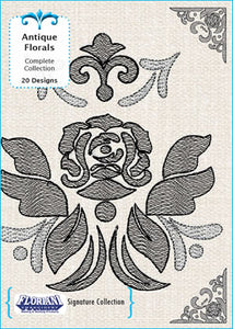 Floriani Embroidery Signature Collection - Antique Floral