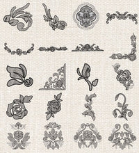 Load image into Gallery viewer, Floriani Embroidery Signature Collection - Antique Floral