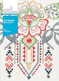 Anita Goodesign Bohemian Bouquet - Mini Collection