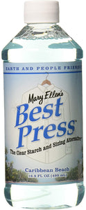 BEST PRESS - CLEAR STARCH AND SIZING ALTERNATIVE 33.8oz.