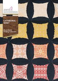 Anita Goodesign Cathedral Quilt - Mix and Match Quilting Collection