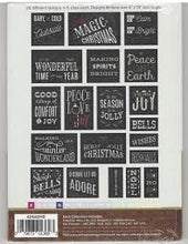 Load image into Gallery viewer, Anita Goodesign Christmas Blackboard Quilt - Mix and Match Quilting Collection