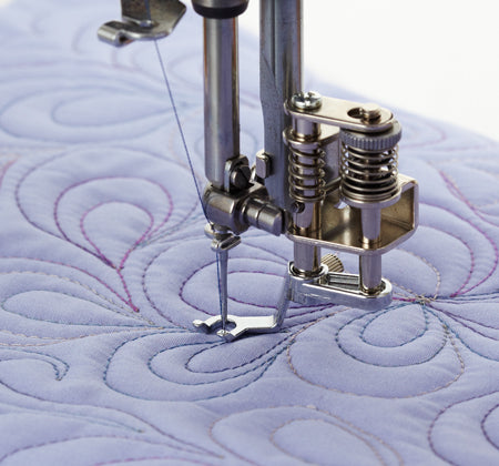 CONVERTIBLE FREE MOTION QUILTING FOOT SET HIGH SHANK