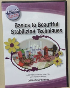 Floriani Embroidery Basic To Beautiful Stabilizing Techniques 2 DVD Set