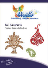 Floriani Embroidery Design Collection - Fall Abstracts by Walter Floriani