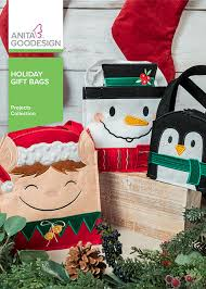 Anita Goodesign Holiday Gift Bags - Project Collection