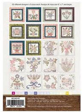 Load image into Gallery viewer, Anita Goodesign Hand Stitched Bouquet Quilt - Mix and Match Quilting Collection