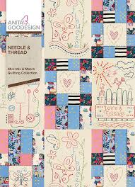 Anita Goodesign Needle and Thread - Mini Mix and Match Quilting Collection