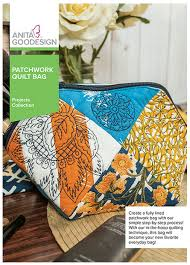 Anita Goodesign Patchwork Quilt Bag - Project Collection