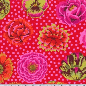 Big Blooms-Red, Kaffe Fassett Classic, GP91