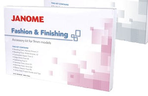 JANOME FASHION & FINISHING ACCESSORY KIT
