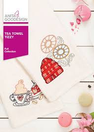 Anita Goodesign Tea Towel Tizzy - Full Collection