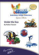 Floriani Embroidery Design Collection - Under the Sea by Walter Floriani