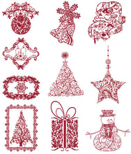 Load image into Gallery viewer, Floriani Embroidery Design Collection - Victorian Christmas by Walter Floriani