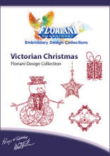 Floriani Embroidery Design Collection - Victorian Christmas by Walter Floriani