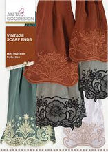 Load image into Gallery viewer, Anita Goodesign Vintage Scarf Ends - Mini Heirloom Collection