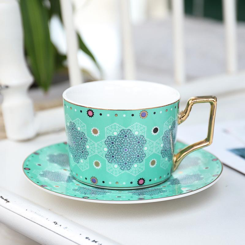 Moroccan Adventure Teacup Emerald Green - Villa and Oak