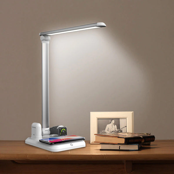Pulse LED Desk Lamp Wireless Charger - Villa and Oak
