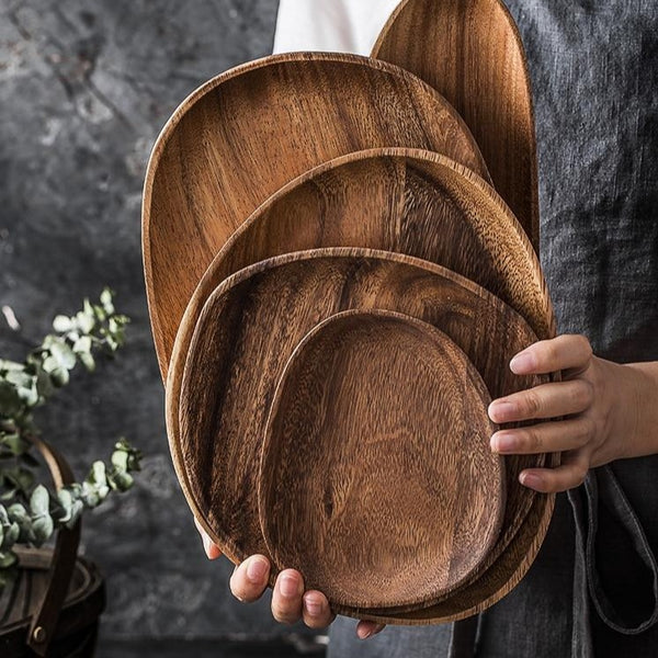 Palau Eco Wood Plates - Villa and Oak