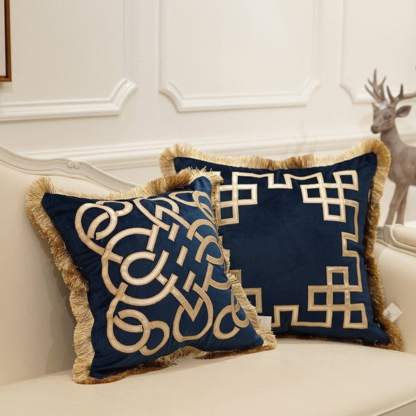 London Luxury Cushion Cover - Villa and Oak