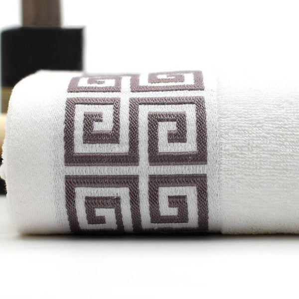 Eiffel White Cotton Towel Set - Villa and Oak