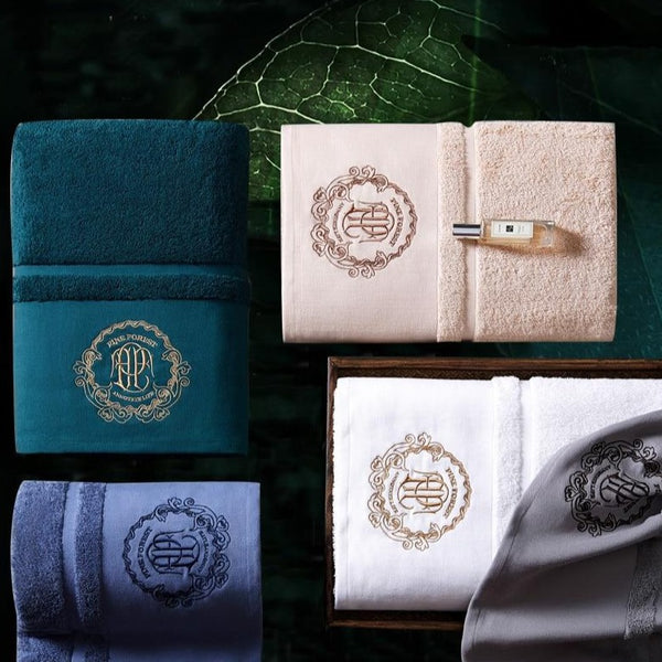 Château Luxury Bath Towels - Villa and Oak