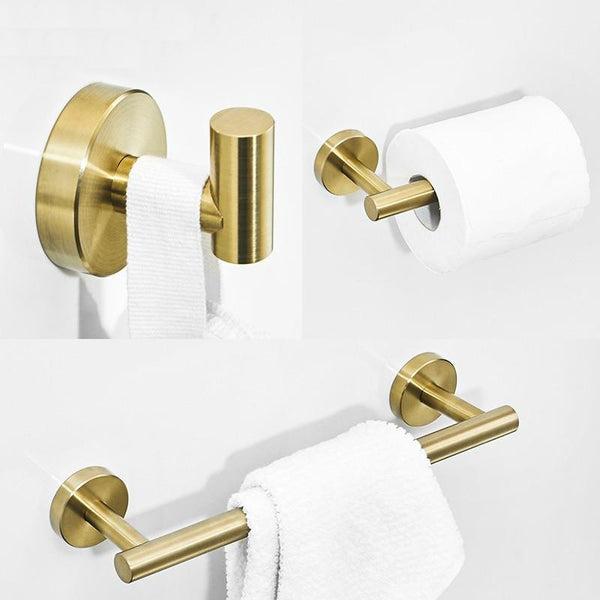 Gold Series Bathroom Accessories - Villa and Oak