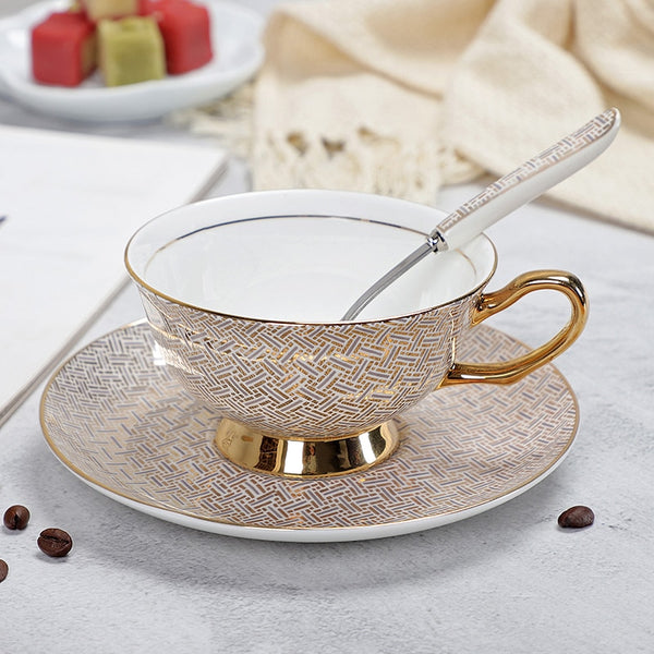 Mont Blanc Luxury Tea Cups - Villa and Oak