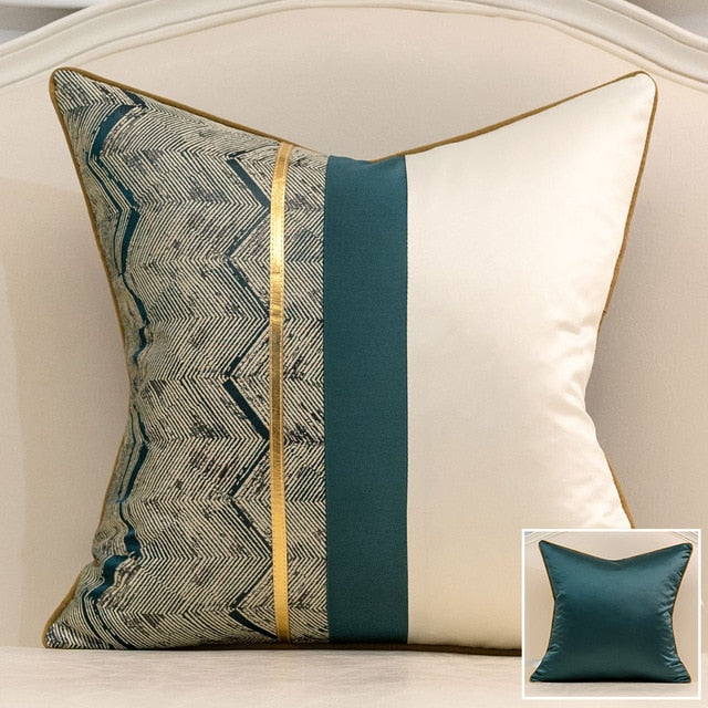 Silk Oak Luxury Cushion Covers - Villa and Oak