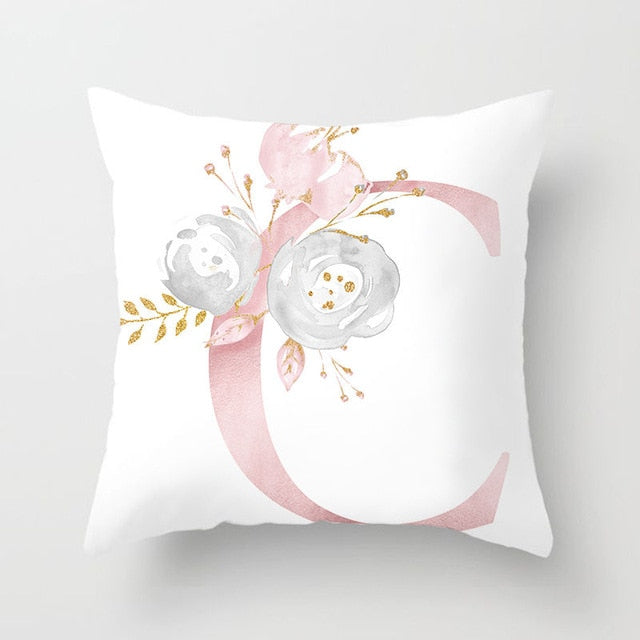 Decorative Pink Cushion Cover - Villa and Oak